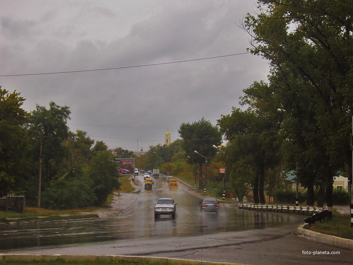 Дорога в старйигород