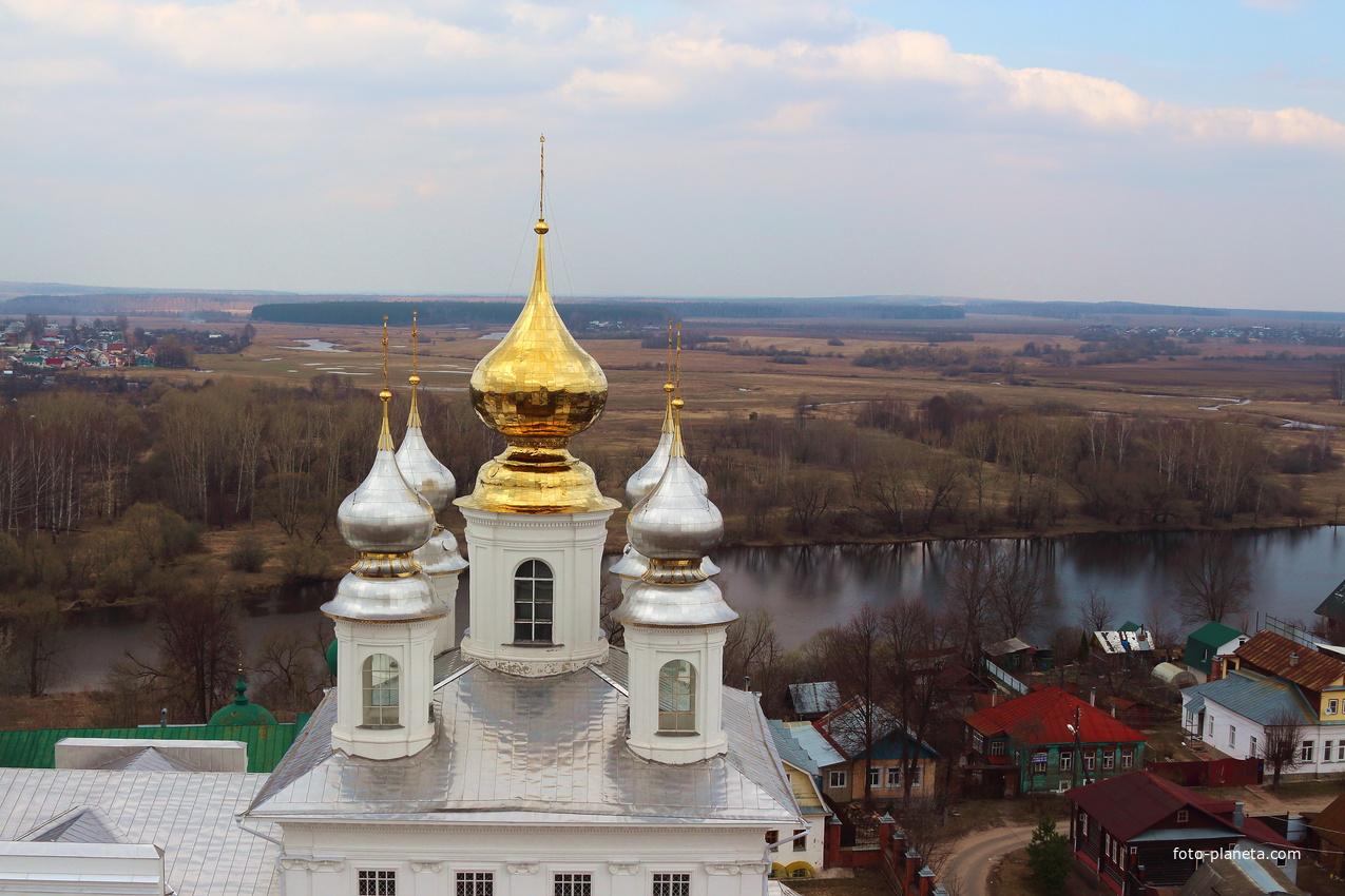 Золотые купола Воскресенского собора. | Шуя (Шуйский район)