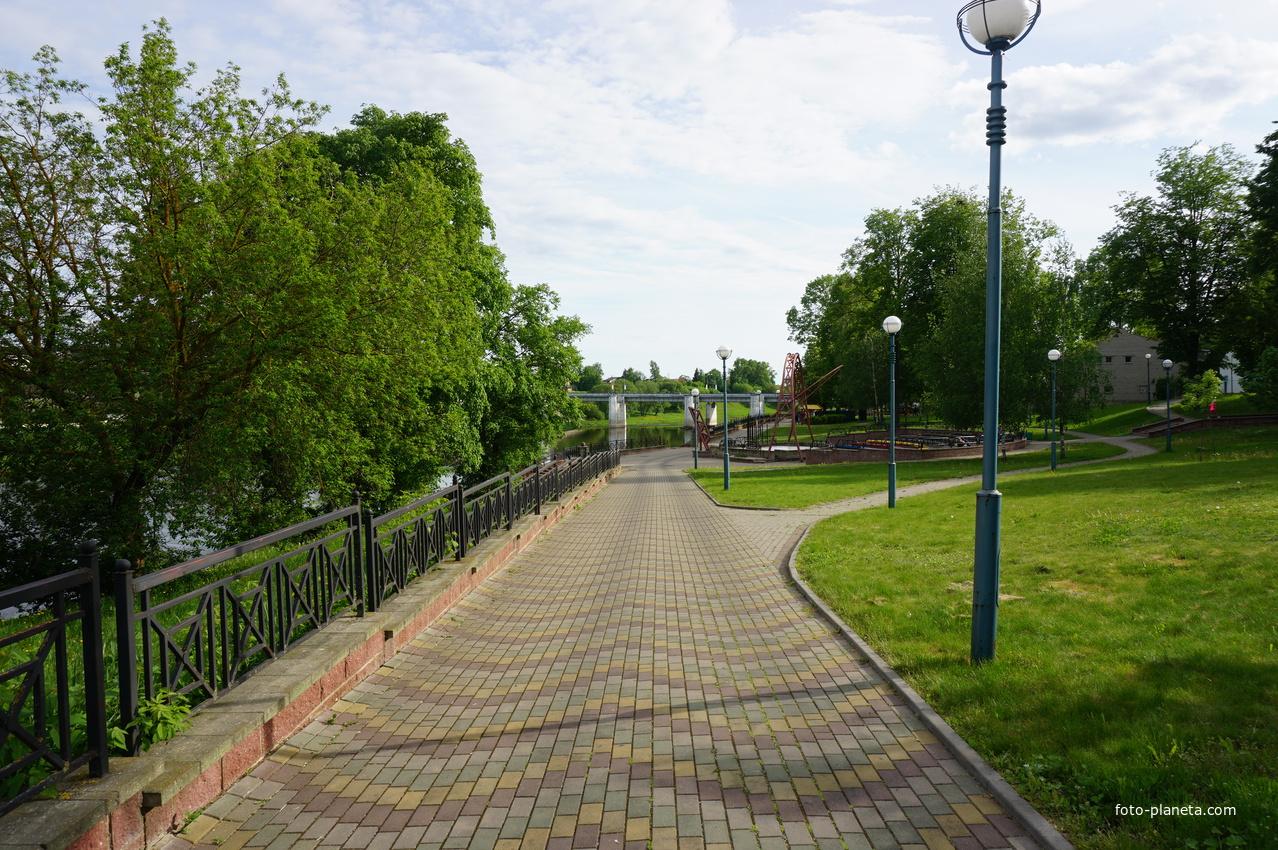 Орша. В парке.