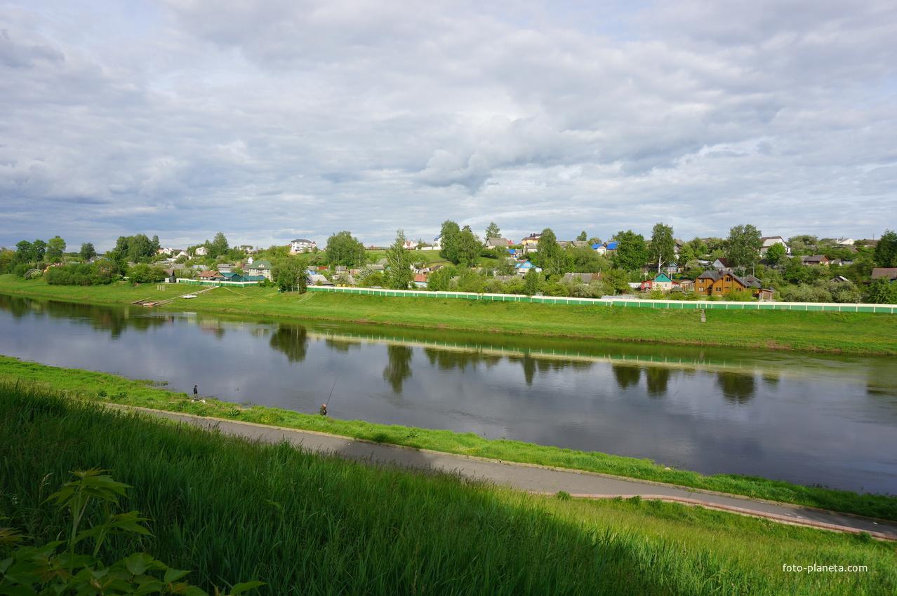 Река Днепр.