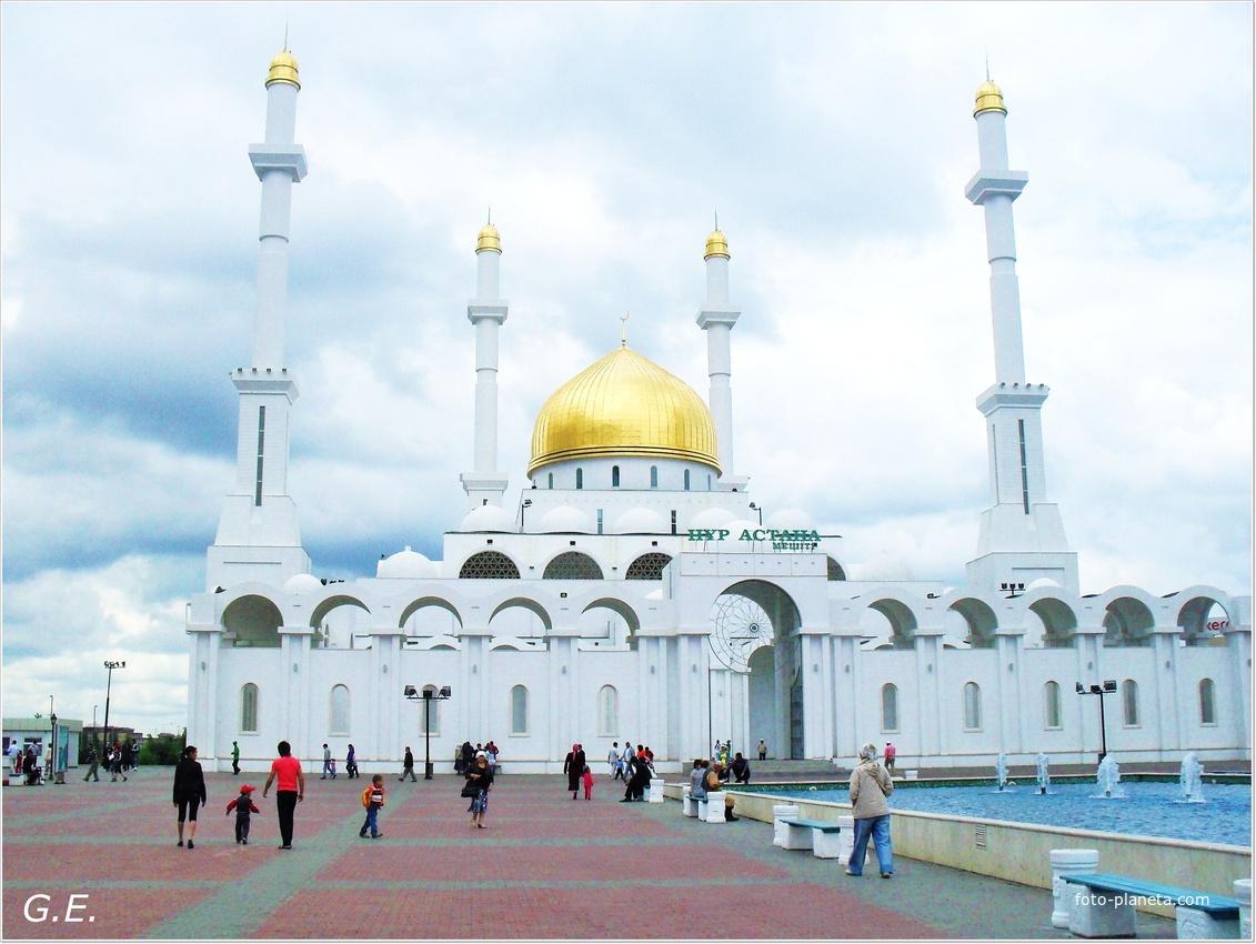 "Астана. Мечеть "" Нур-Астана"" | Казахстан"