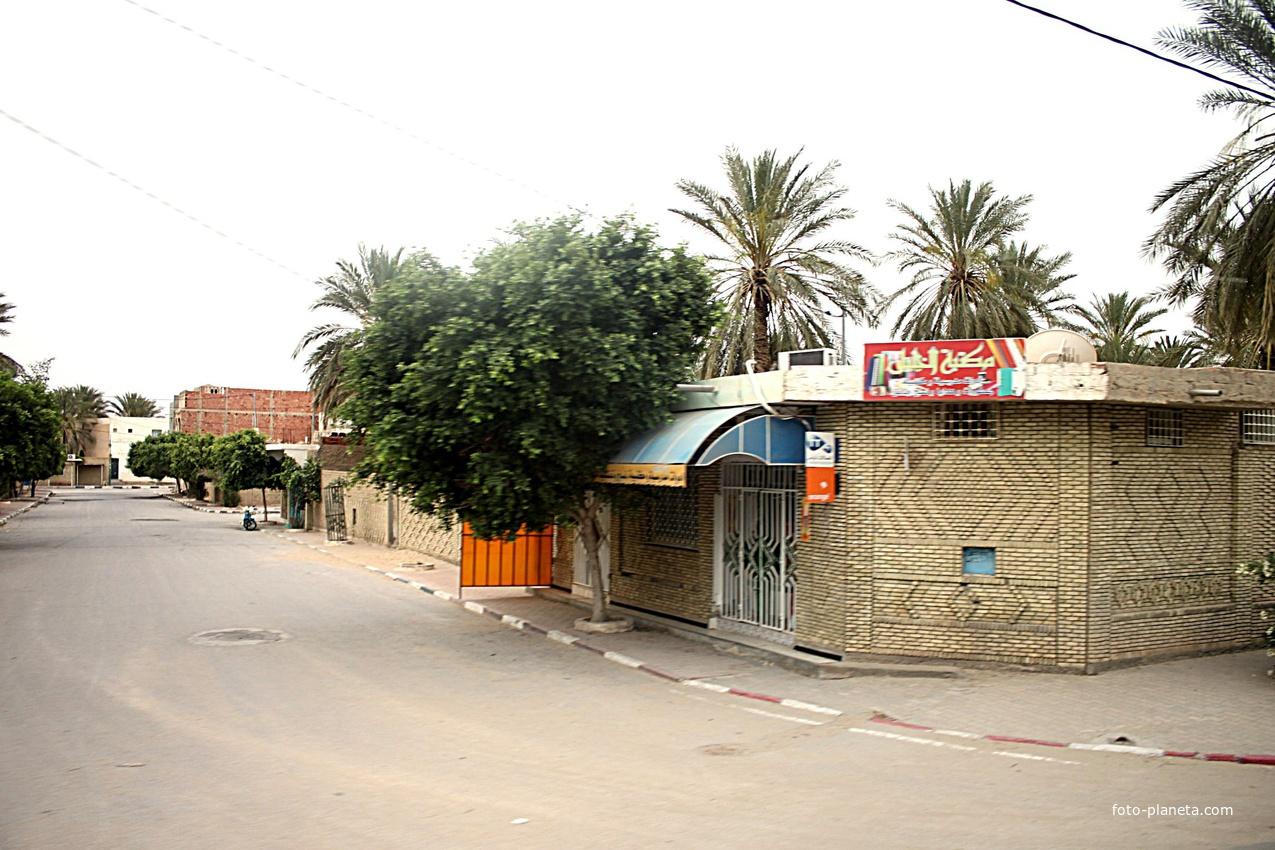 Таузар.   Тунис