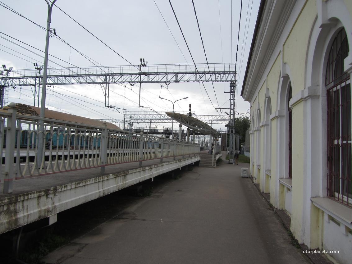 ж/д вокзал во Мге
