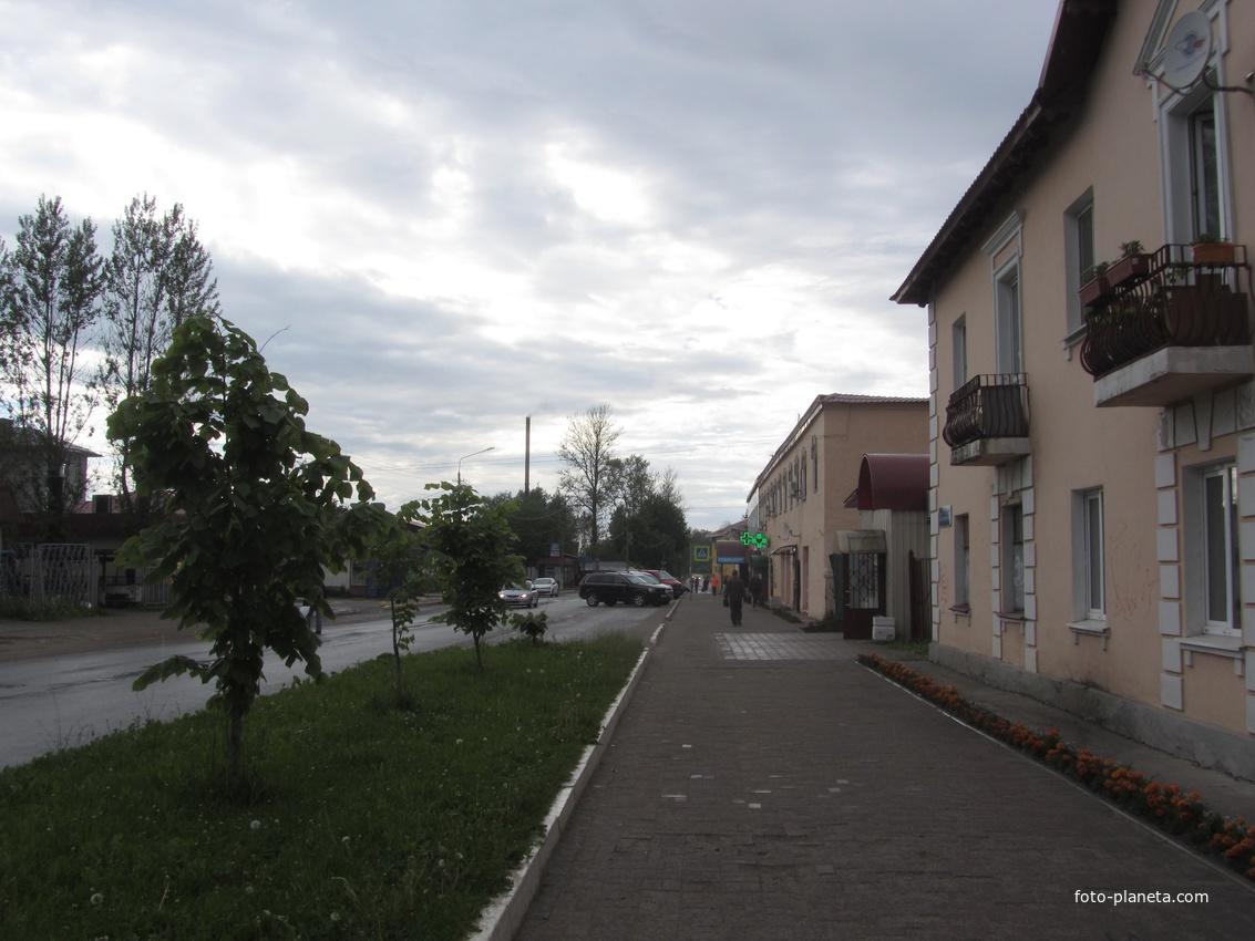 Железнодорожная улица, Мга