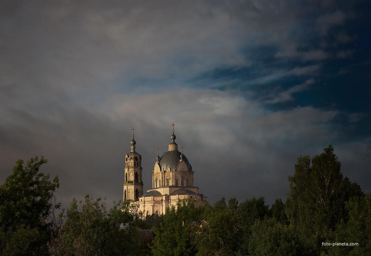 Церковь Живоначальной Троицы | Гусь-Железный (Касимовский район)