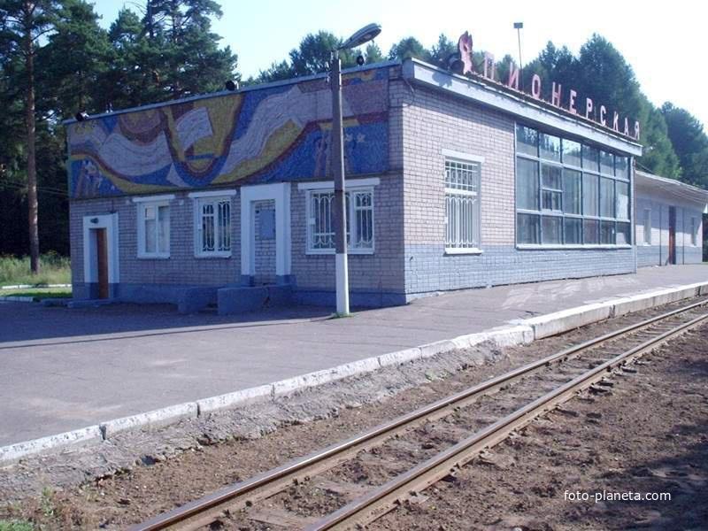Станция Понерская Детской ЖД
