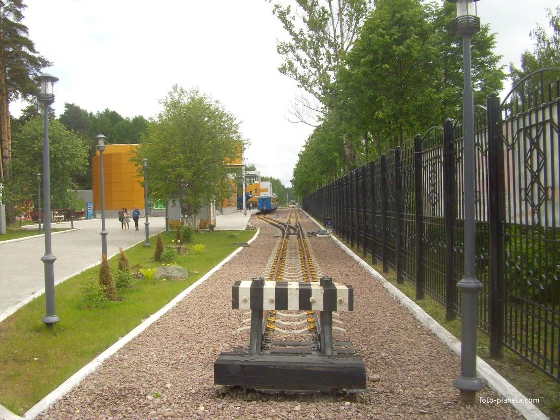 Станция Пионерская детской жд 2010 год