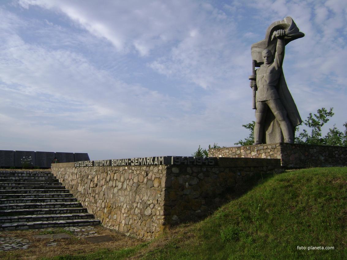 Памятник, Гайна, общий вид | Логойский район