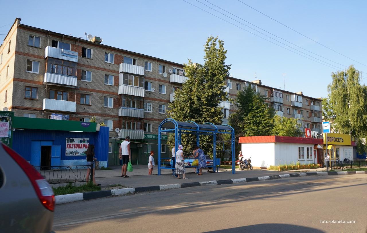 Советская улица, остановка