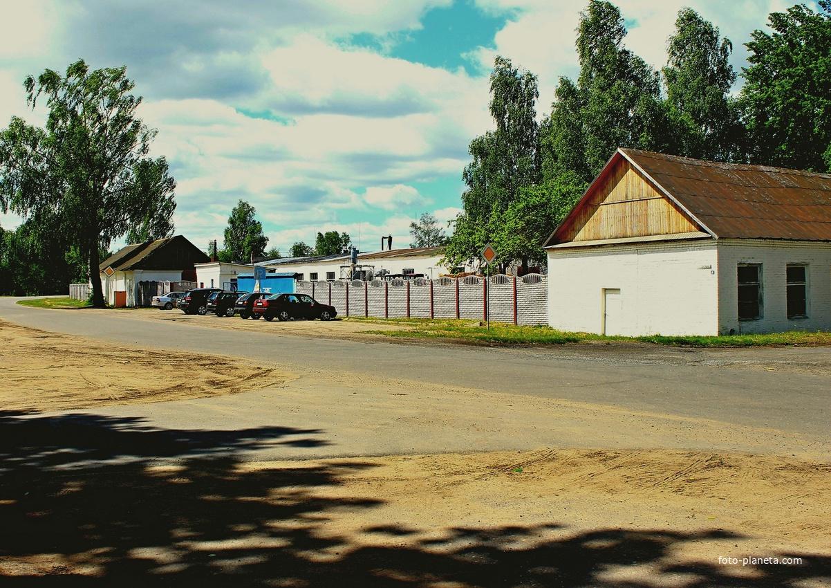 Деревоперерабатывающий цех | Кривичи (Мядельский район)
