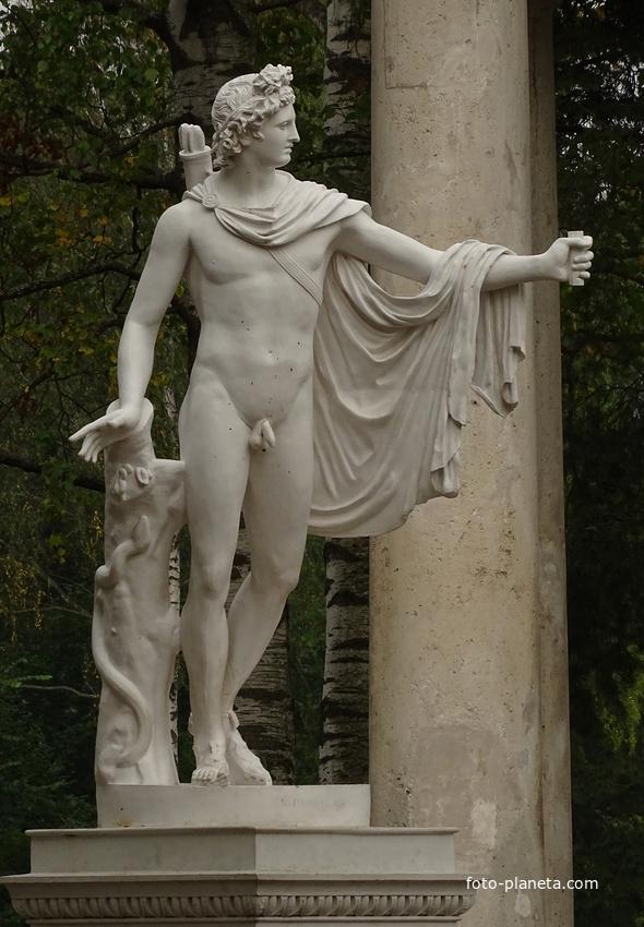 Скульптура Аполлона Бельведерского