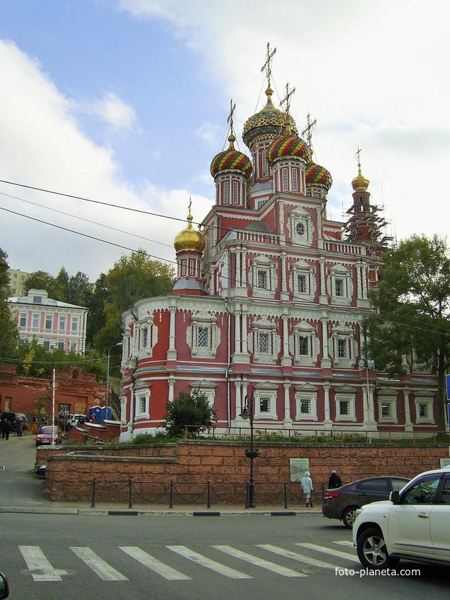 Ул. Рождественская - Богородице-Рождественская (Строгановская) церковь | Нижний Новгород