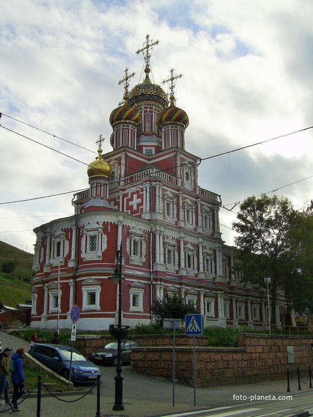 Ул. Рождественская - Строгановская церковь | Нижний Новгород