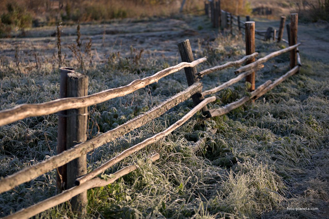 Морозное утро | Алаево (Юргинский район)