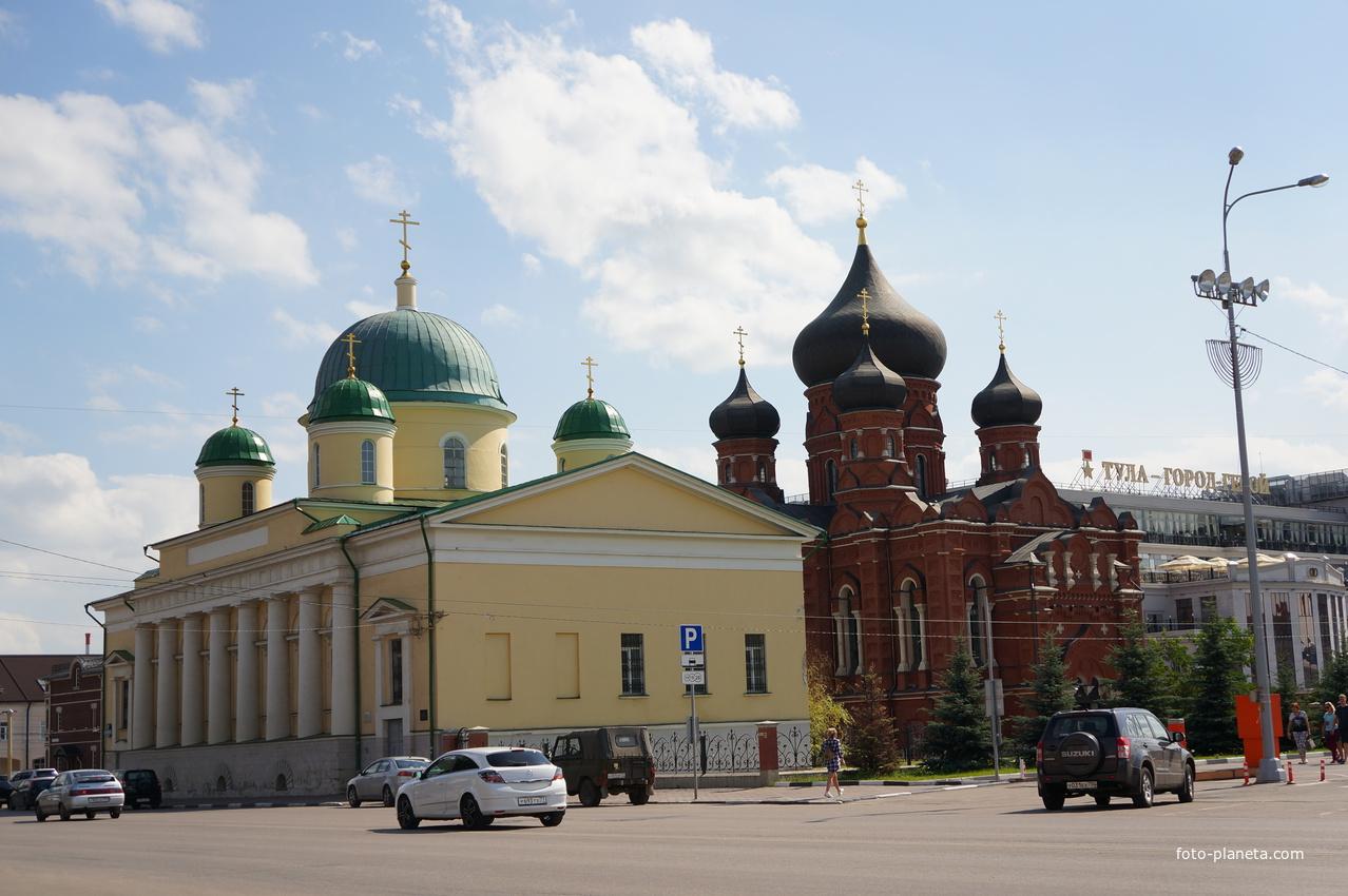 Храмы Успенского женского монастыря | Тула (Тульская область)