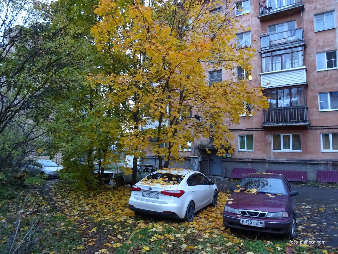 Двор на улице Куйбышева