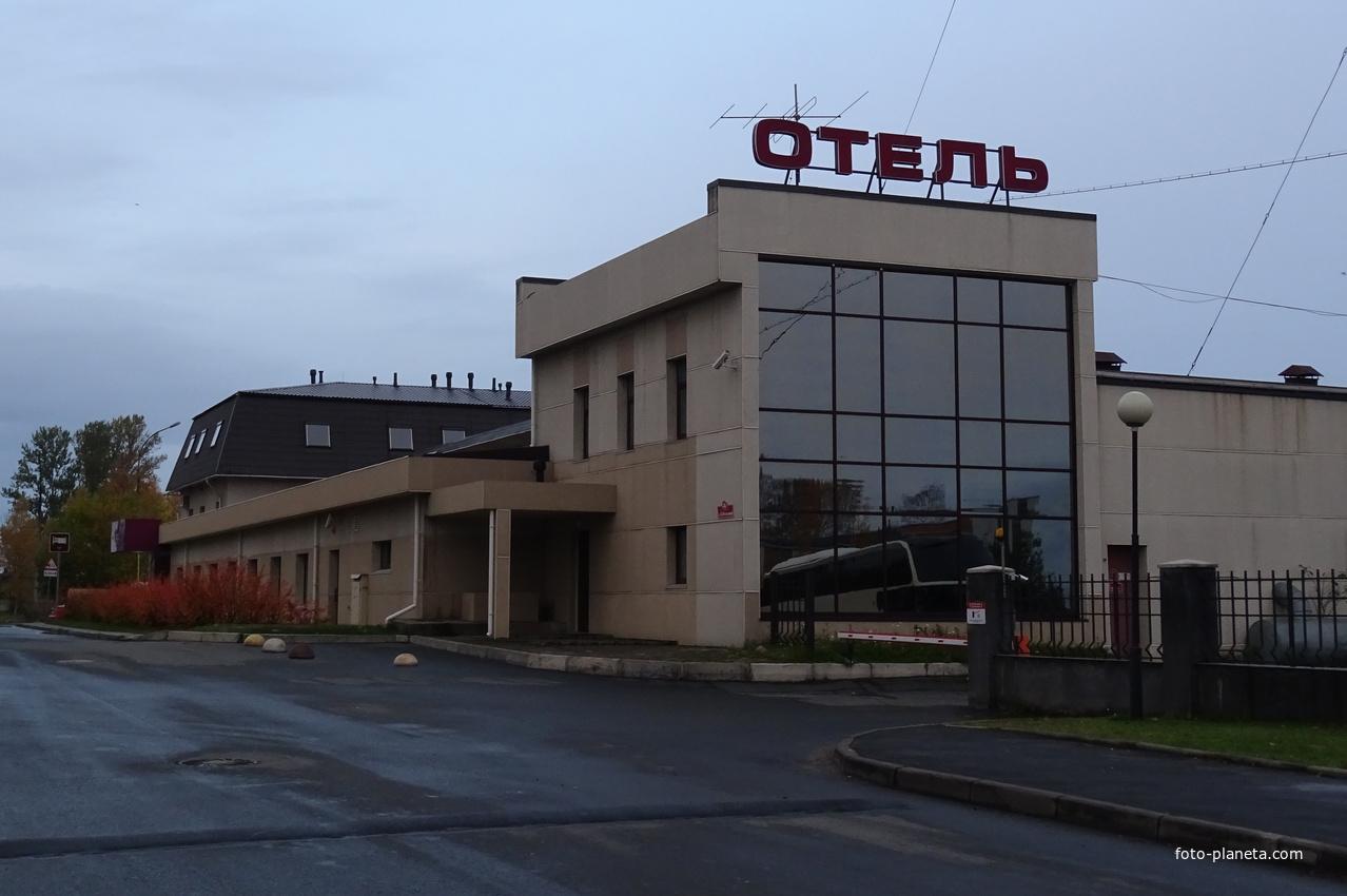 """Улица Федосовой. Отель """"Прионежский""""."""