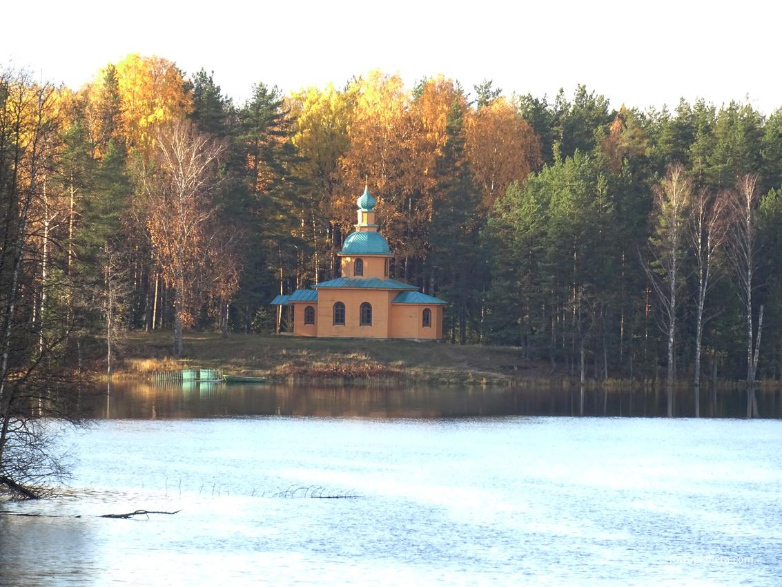 Скит на озере Рощинском | Старая Слобода (Лодейнопольский район)