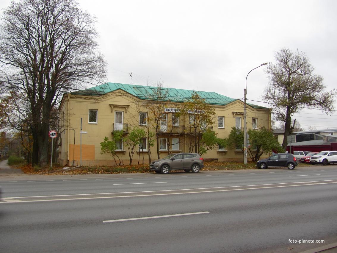 Выборгское шоссе, поселок Парголово
