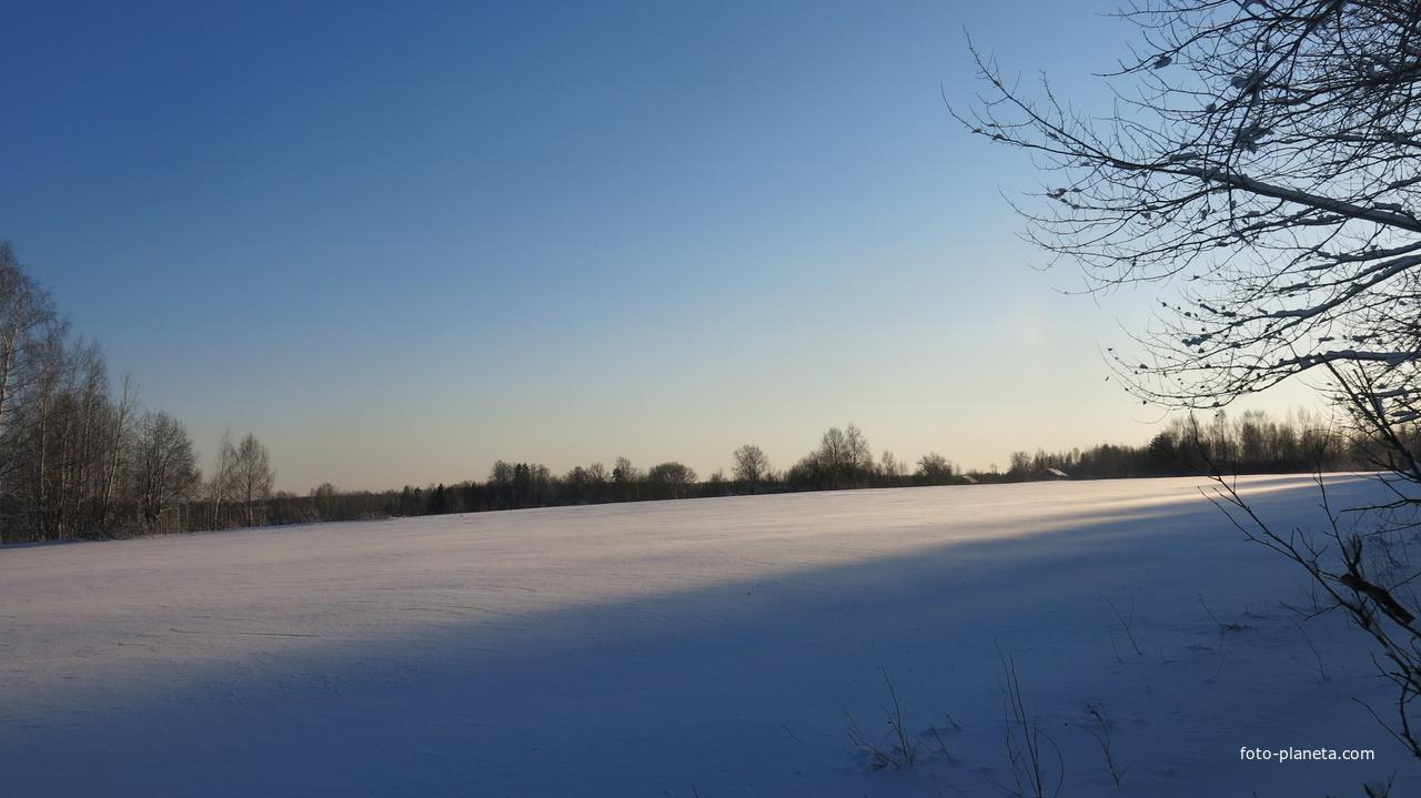 Щипцовское зимнее поле. | Щипцово (Пошехонский район)