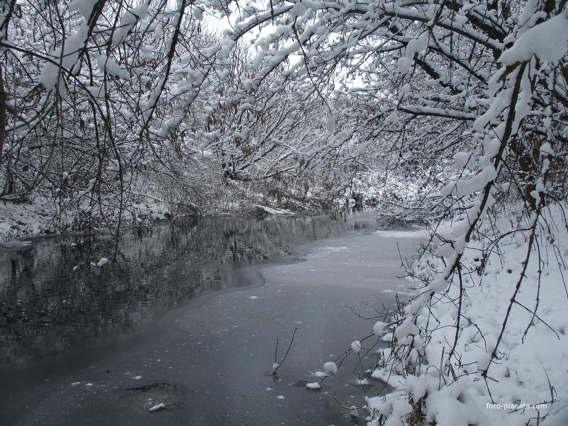 Вид с плотины Железного моста