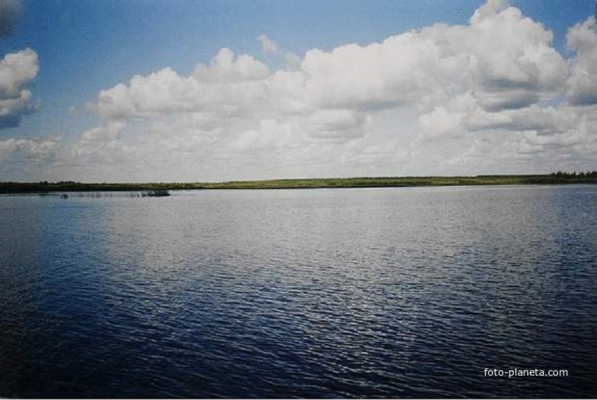 Северная часть озера Имлес. Август 2005г.