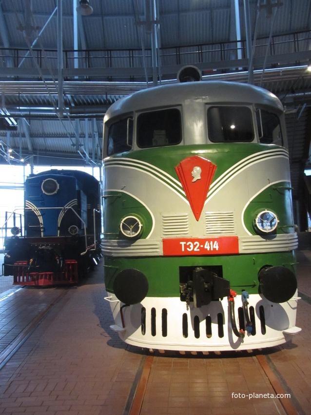 Музей железных дорог России. Тепловозное депо | Адмиралтейский район