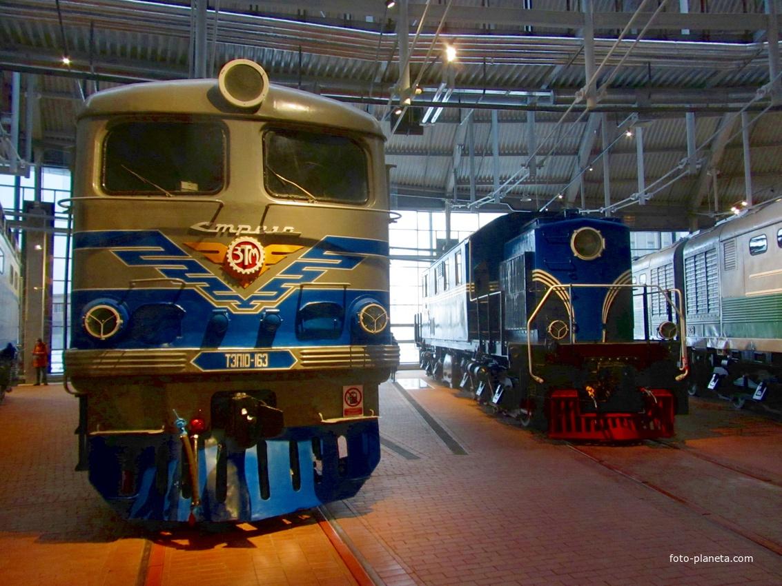 Музей железных дорог России. Тепловозное депо