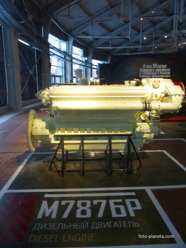 Музей железных дорог России. Дизельный двигатель | Адмиралтейский район