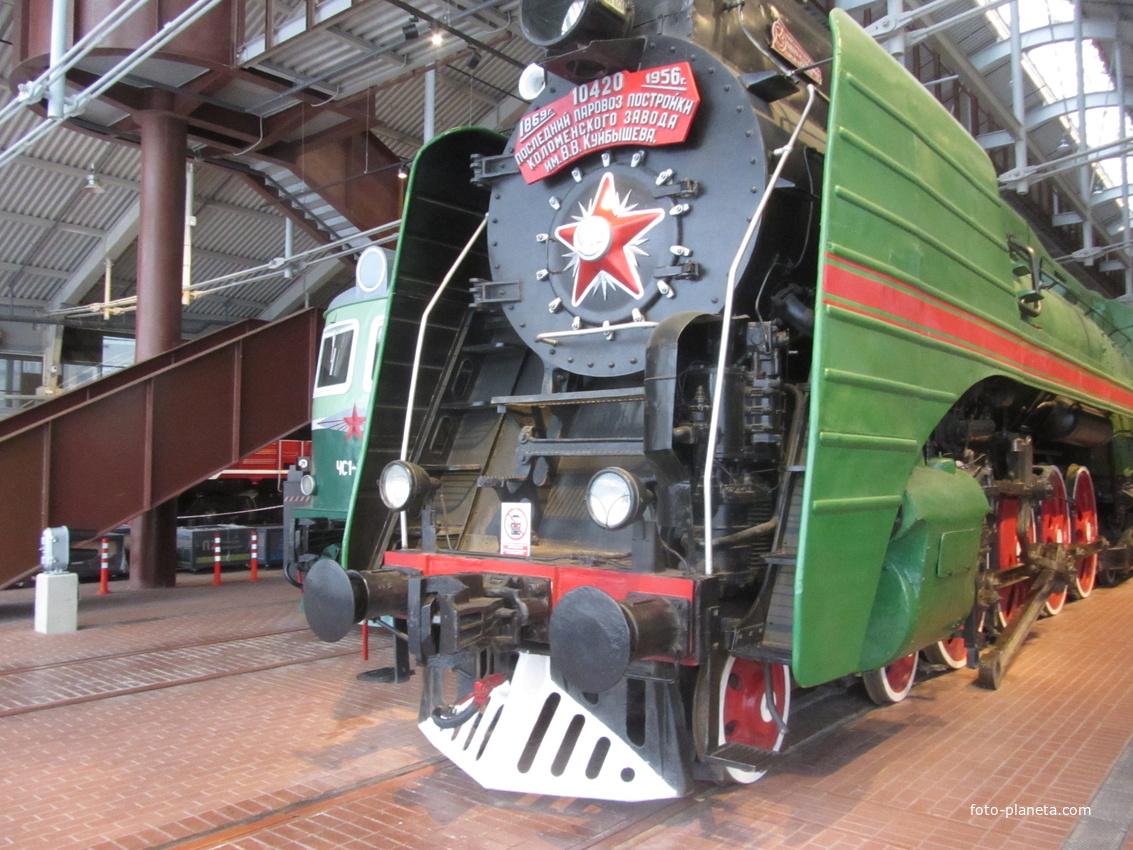 Музей железных дорог России.