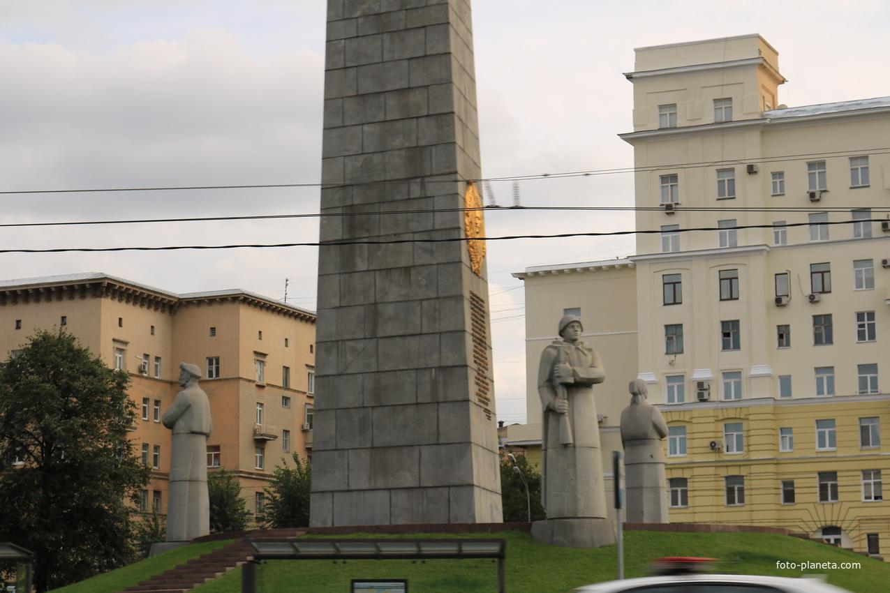 Обелиск Москва Город-Герой