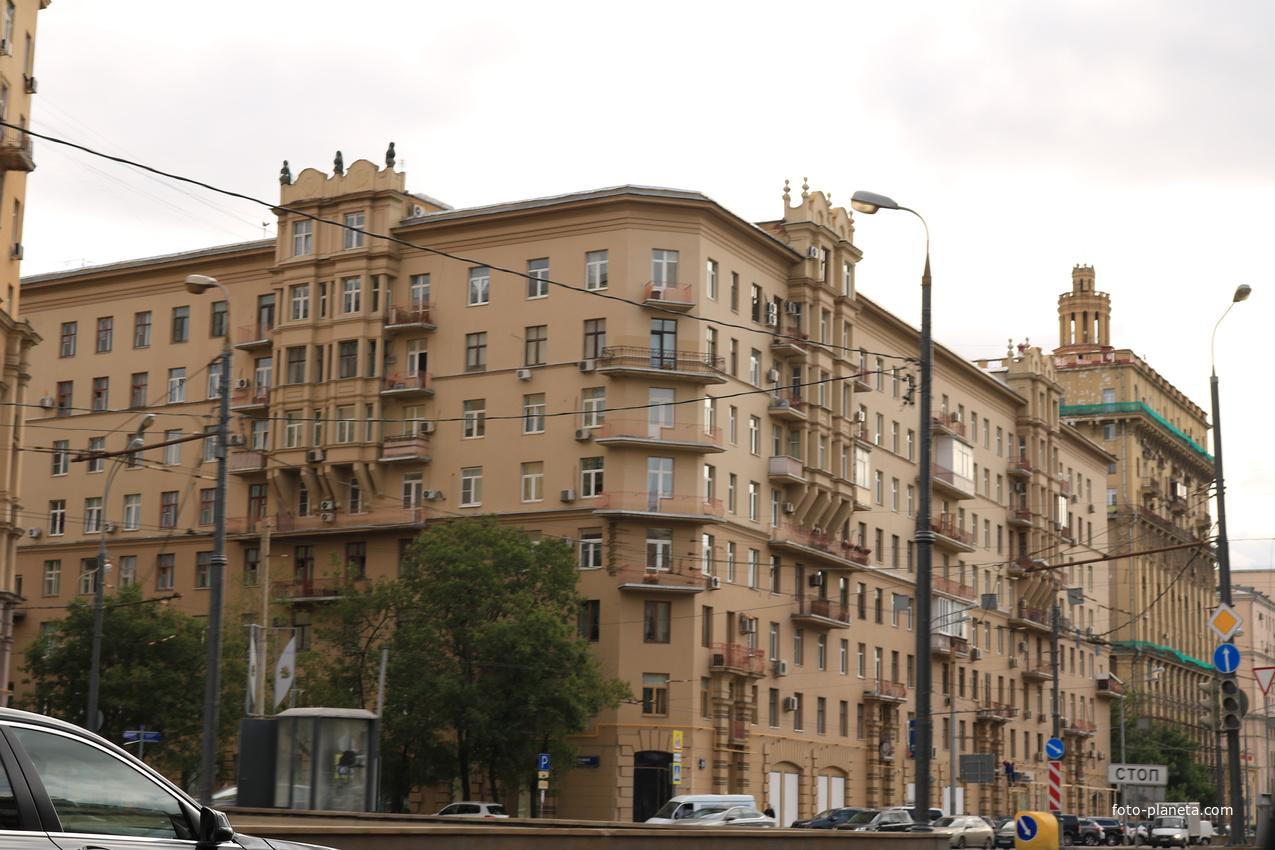 Кутузовский проспект, дом 1938–41 года | Дорогомилово
