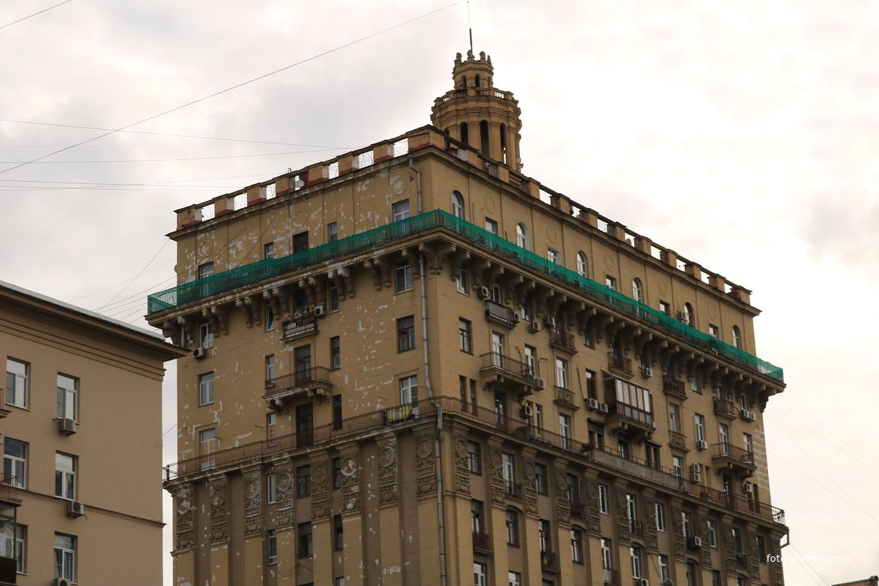Жилоцдом, строился как гостиница Госплана