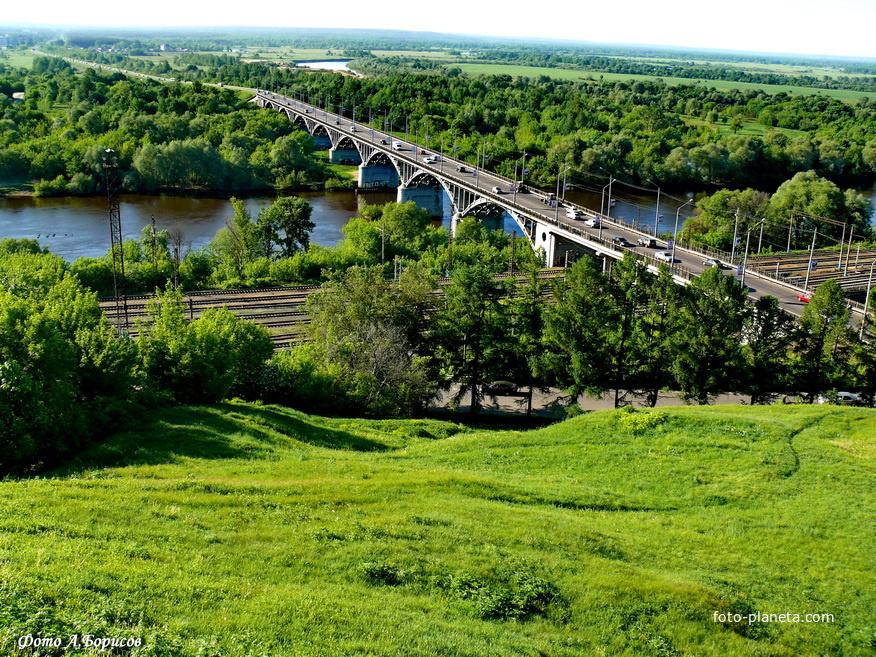 Мост через р.Клязьма.