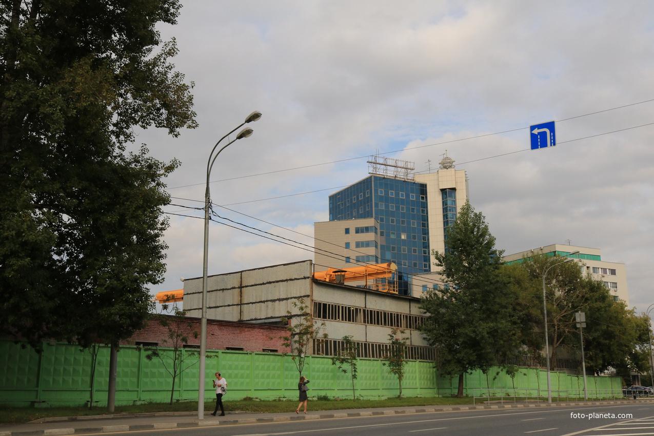 Стройплощадка СМУ-162 Трансинжстрой | Обручево (Москва)