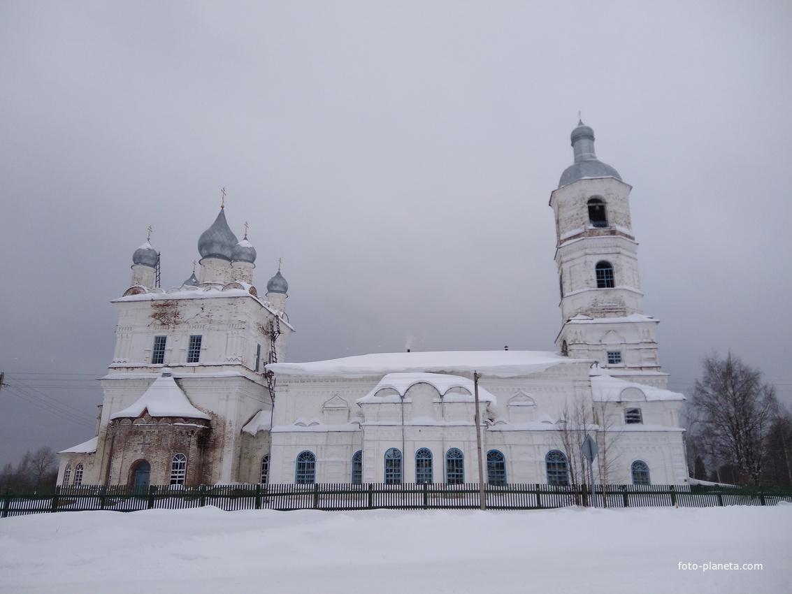 Христорождественский храм | Луптюг (Октябрьский район)