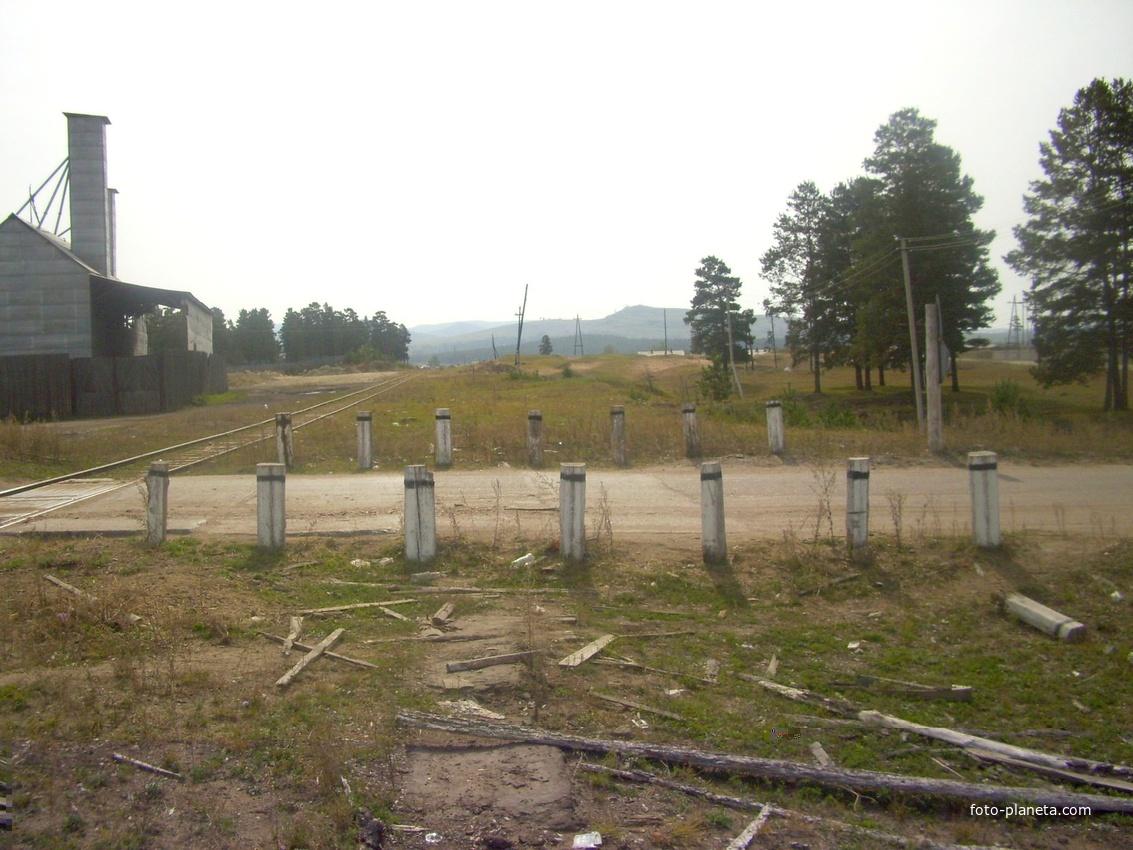 Хандагатайская узкоколейная железная дорога — фотографии, сделанные в 2009 году