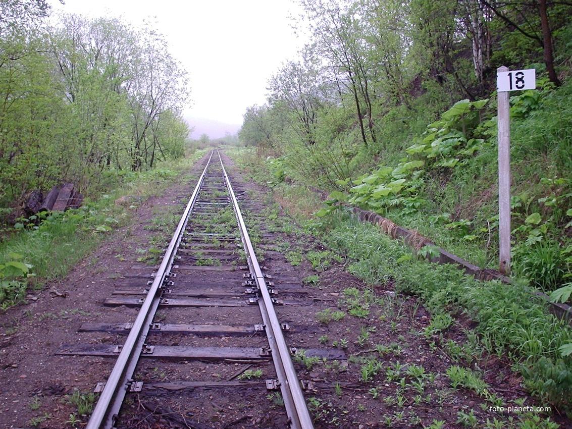 Перегон Быков - Углезаводск | Долинский район