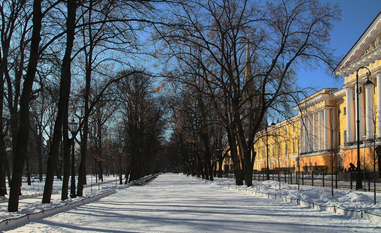 Александровский сад | Адмиралтейский (муниципальный округ)