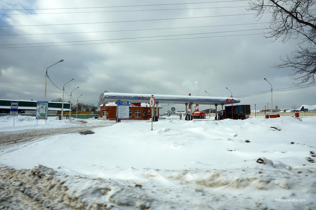 АЗС Ступино, Пристанционная улица