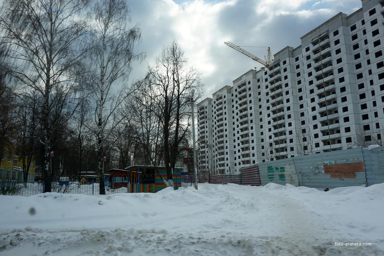 Долгострой на улице Бахарева | Ступино (Ступинский район)