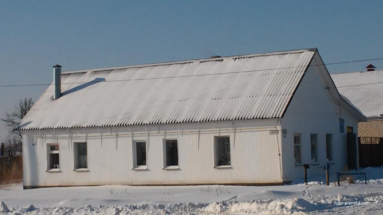 Здание ветлечебницы.Улица Советская. | Кромы (Кромской район)
