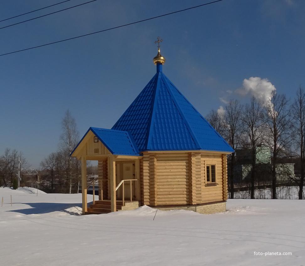 Часовня на территории Храма Архангела Михаила