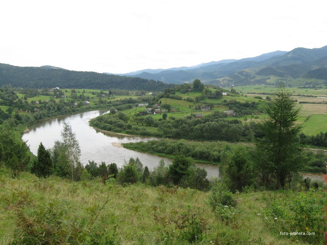 село Перепростыня, река Стрый | Перепростиня (Дрогобицький район)