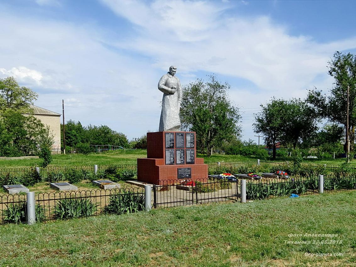 Мемориал - братская могила ВОВ | Тормосин (Чернышковский район)