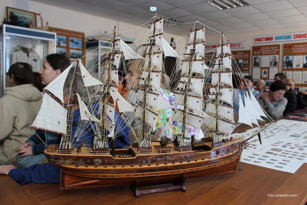 Шебекино. В Музее Военно-Морского флота. | Шебекинский район